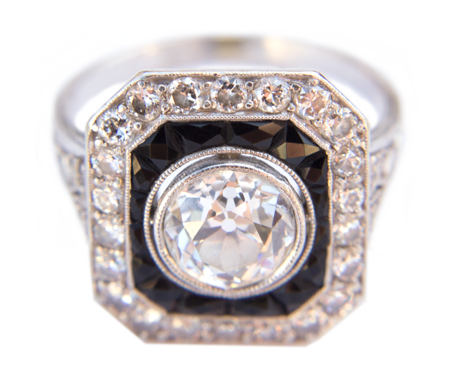 One of several rings borrowed from BYU Students to be photographed